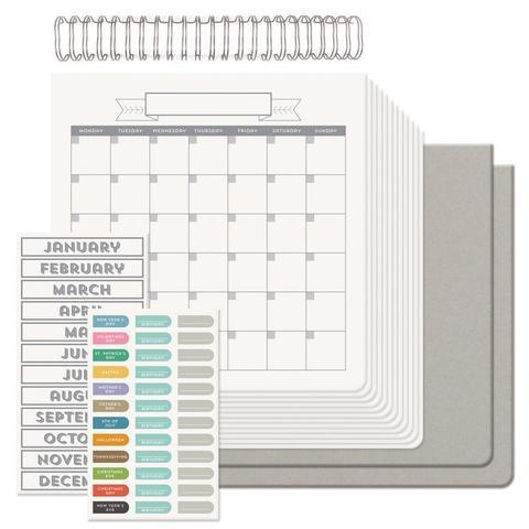 Набор для создания календаря Cinch Calendar Kit