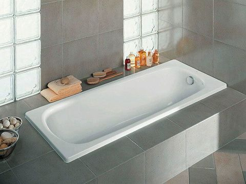 Ванна стальная Roca Contesa  140x70см.