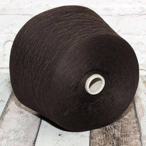 Смесовка с кашемиром и ангорой CASA DEL FILATO 1/15 коричневый