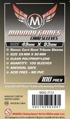 Протекторы для настольных игр Mayday Roman Card Sized Tribune (49x93) - 100 штук