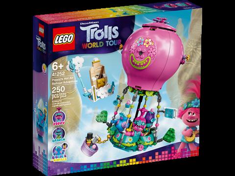 LEGO Trolls: Путешествие Розочки на воздушном шаре 41252 — Poppy's Air Balloon Adventure — Лего Троллз Тролли