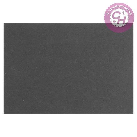 Переплетный картон для творчества 1,5 мм, 21*30 см, черный, 950 г/м², 1 шт.
