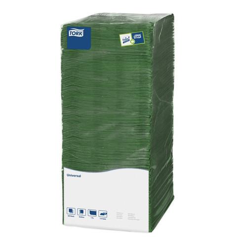Салфетки бумажные Tork Big Pack 478659 25x25 см зеленые 1-слойные 500 штук в упаковке
