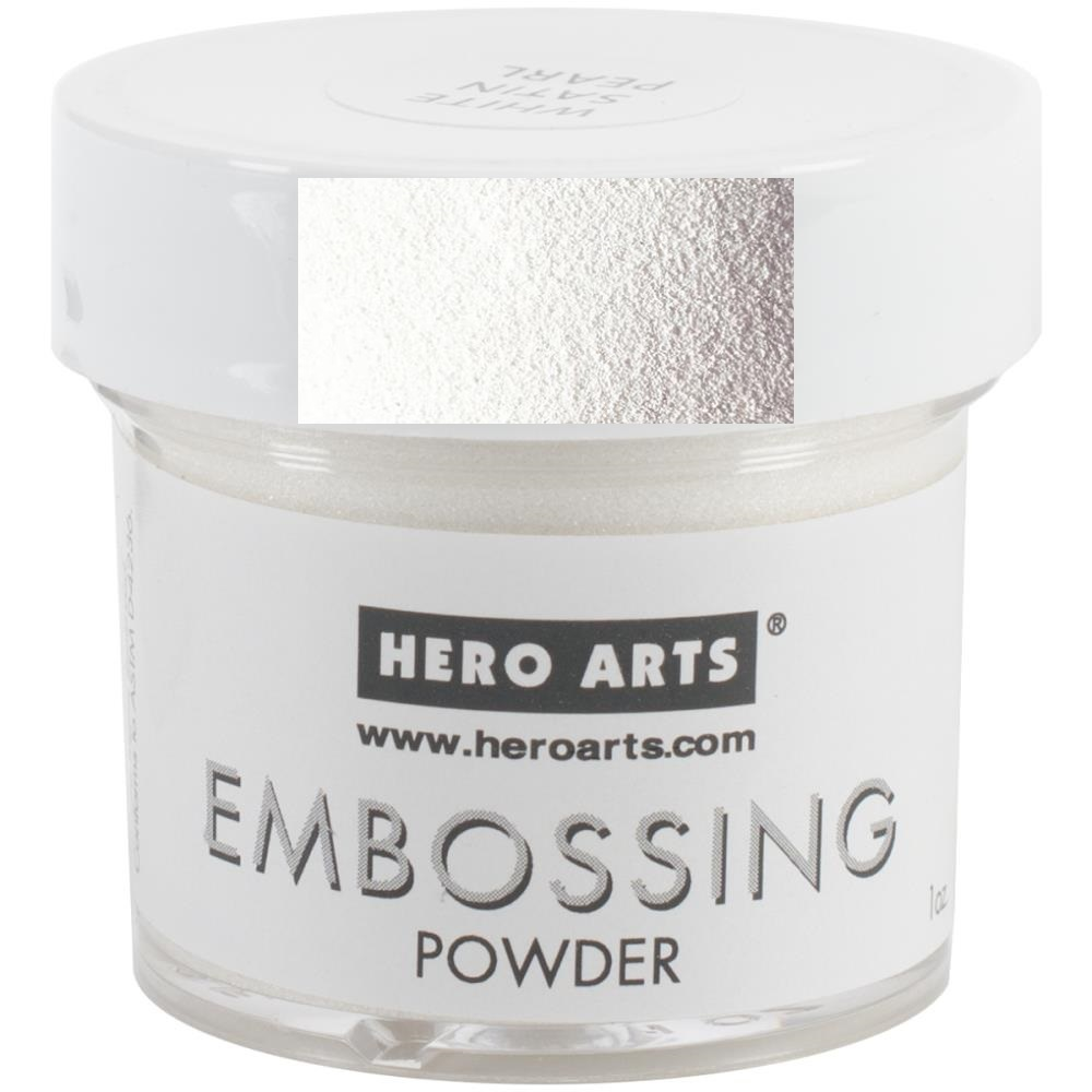 Пудра для эмбоссинга -WHITE SATIN  -EMBOSSING POWDER