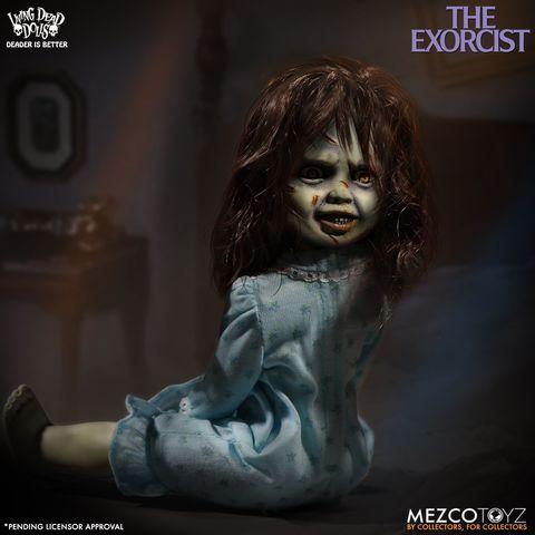 Изгоняющий дьявола серия Живые мертвые куклы Риган МакНил