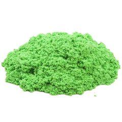Космический песок. Песочница+6 формочек 2 кг. Зеленый