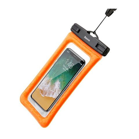 Чехол водонепроницаемый Baseus Air cushion Waterproof bag /orange/