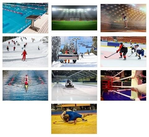 ПМООС Спортивные объекты