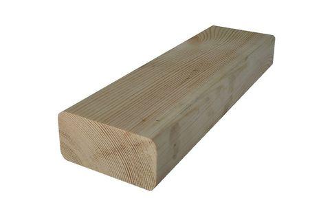 Брусок для скамейки из массива сосны 60x30 мм.