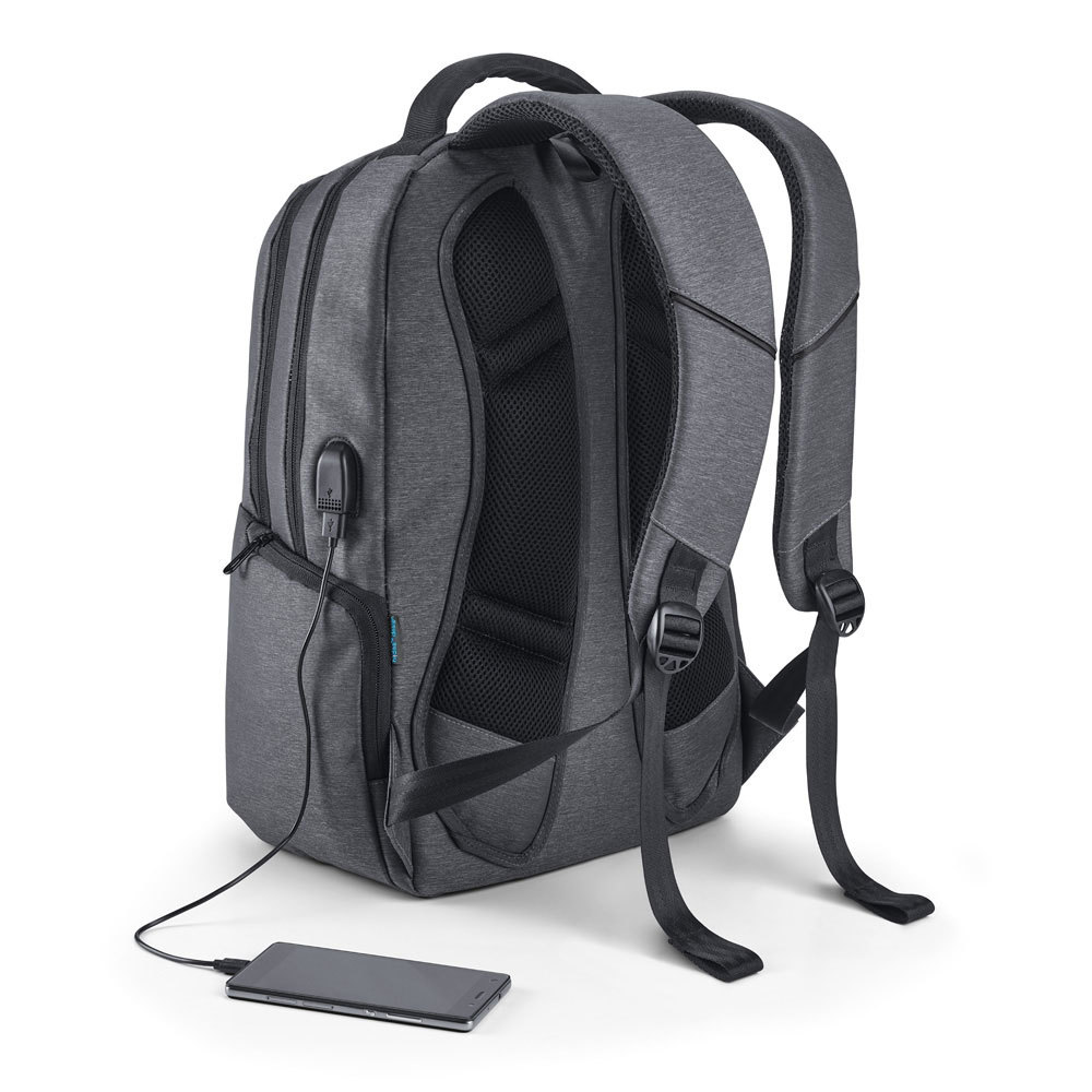Fren Laptop Backpack, grey