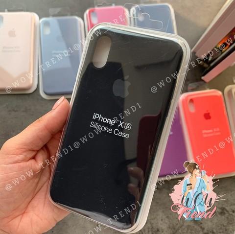 Чехол iPhone 7+/8+ Silicone Case Full /black/ черный