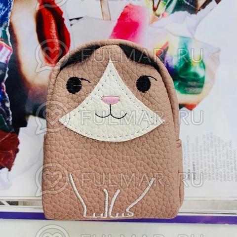 Брелок - монетница Котёнок Пудровый