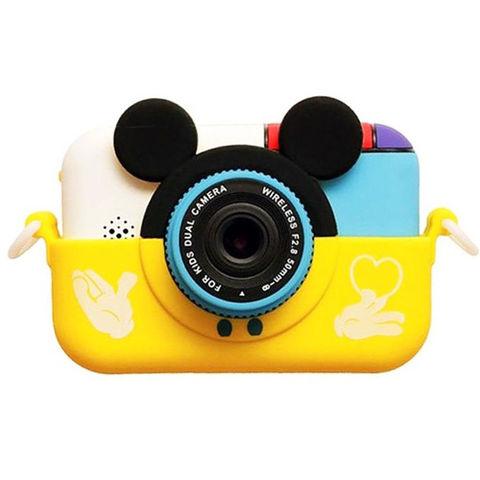 Детский цифровой фотоаппарат Микки Smart Kids Camera 4 Series MIKKI желтый