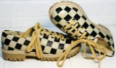Туфли оксфорды женские Goby TMK6506