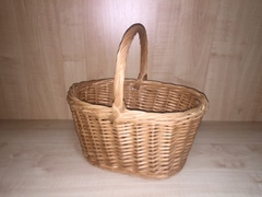 Корзина хозяйственная  плетеная малая (лоза)