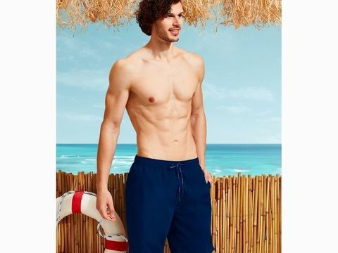 Мужские шорты-плавки темно-синие DOREANSE 3804