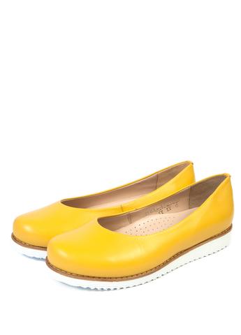 Женские туфли | 3183 (желтый)
