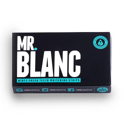 Отбеливающие полоски для зубов Mr. Blanc