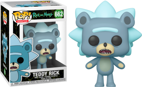 Teddy Rick Vinyl Figure || Мишка Рик