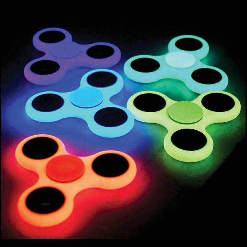 Товары для детей Люминесцентный светящийся спиннер spinner.jpg
