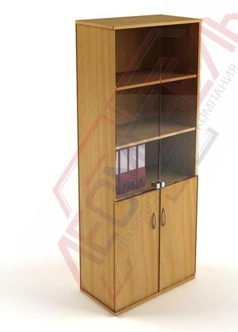 Ш-04 Шкаф офисный с распашными дверьми,с полками
