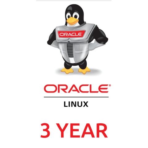 Сертификат на техническую поддержку Oracle Linux Basic Limited (3 Year Support)