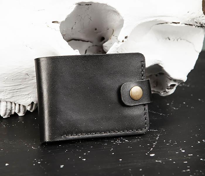 Boroda Design, Мужское портмоне ручной работы с монетницей