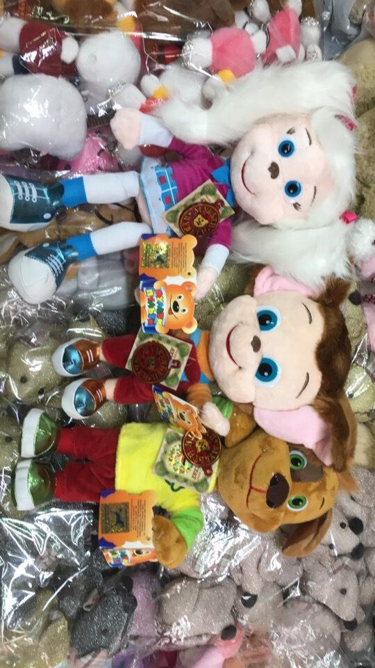 Барбоскины мягкие игрушки со звуком