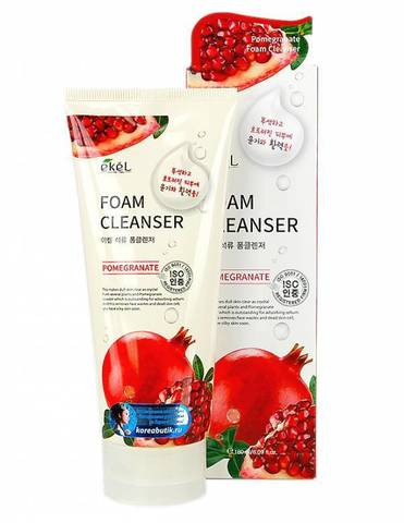 Пенка для умывания с экстрактом граната EKEL FOAM CLEANSER POMEGRANATE