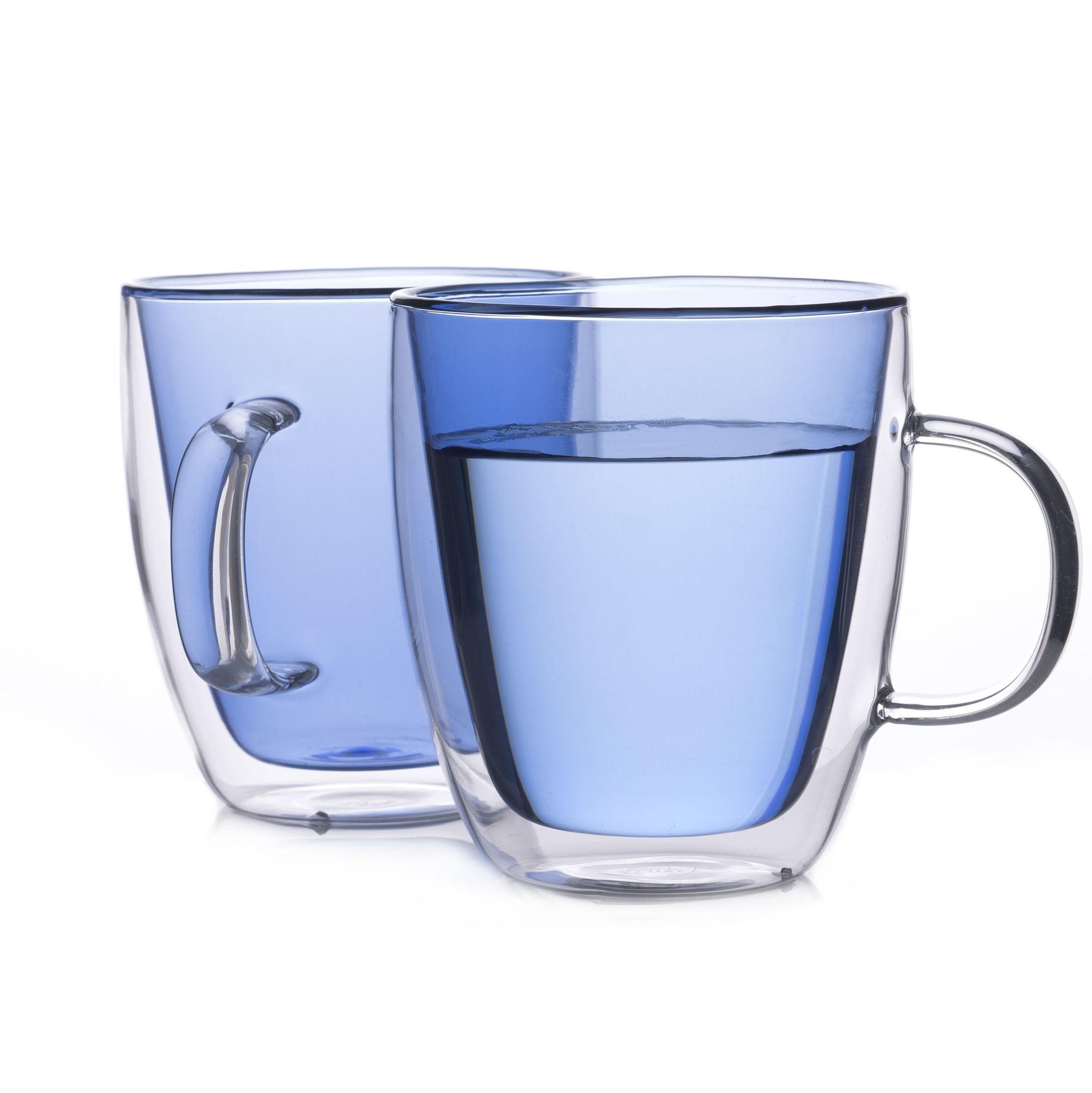 """Наборы-Акции Набор кружек с двойными стенками """"Sidney"""" 380 мл синего цвета голубой.jpg"""
