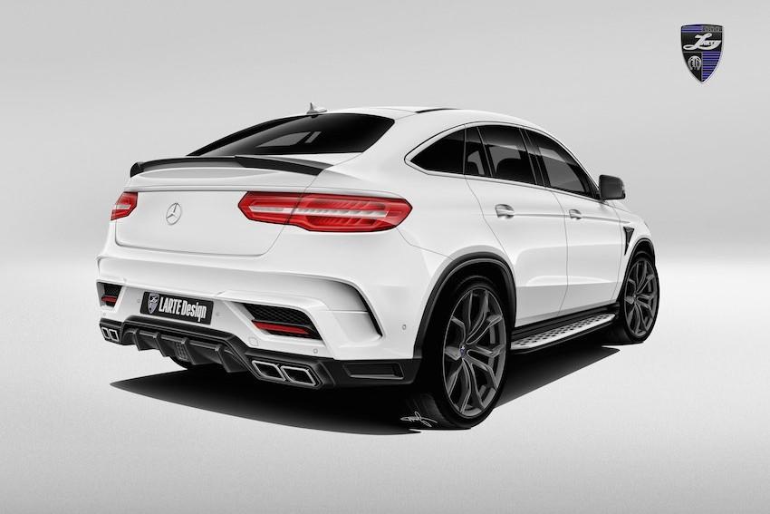 Обвес Larte Design для Mercedes GLE AMG 63 coupe