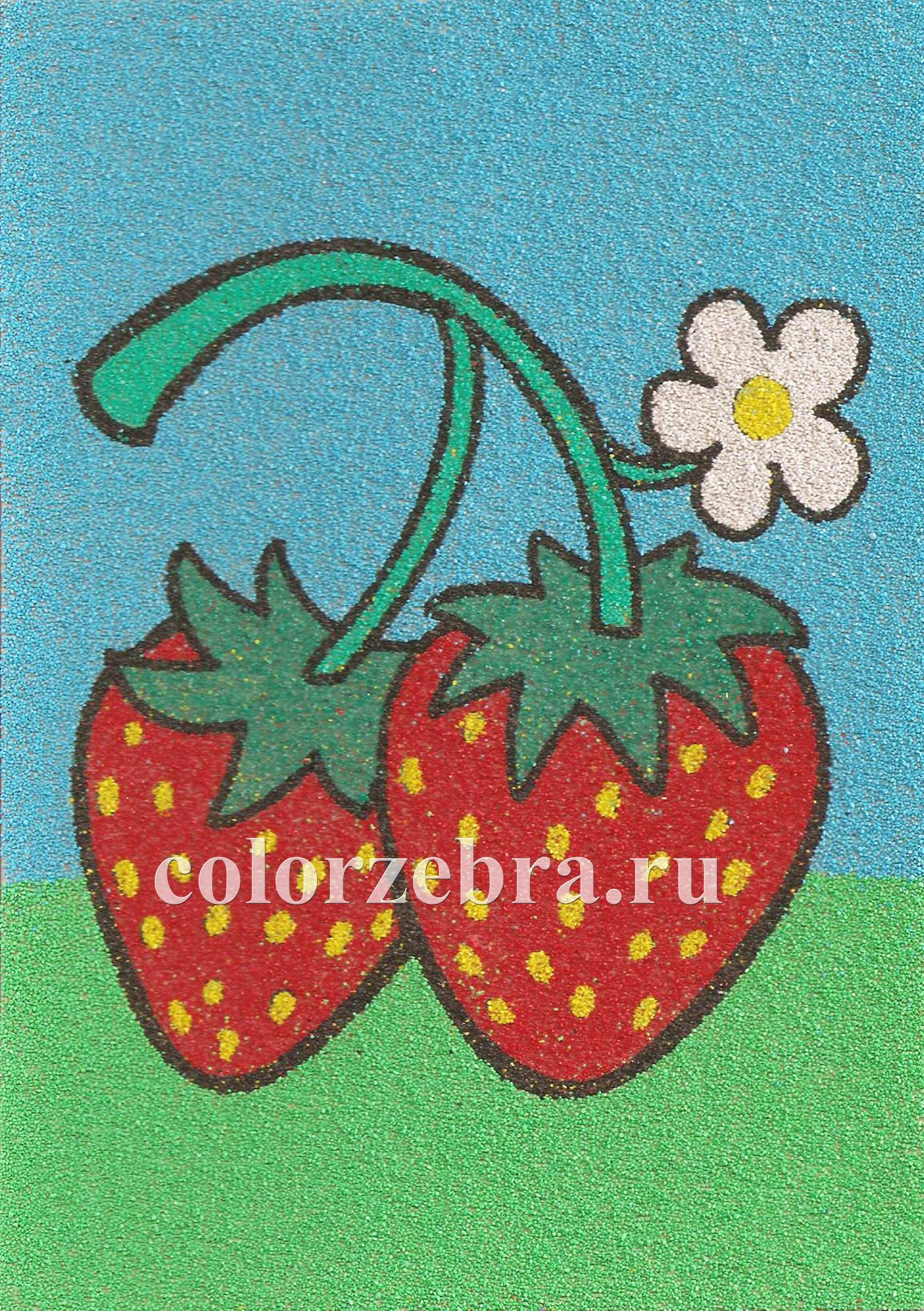 Трафарет для рисунка цветным песком