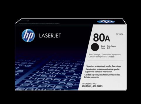 Оригинальный картридж HP CF280A (№80A), чёрный