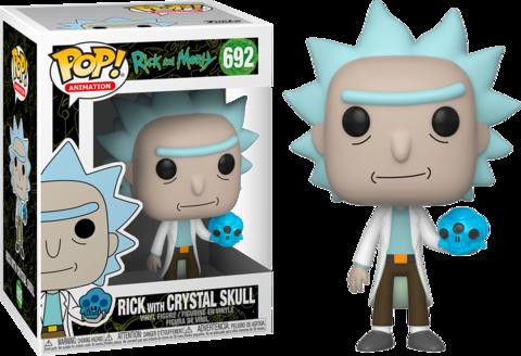 Фигурка Funko Pop! Animation: Rick and Morty - Rick with Crystal Skull