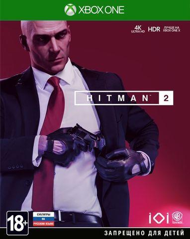 Xbox One Hitman 2 (русские субтитры)