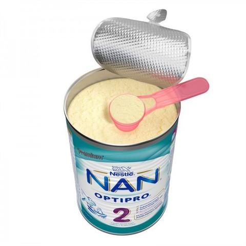NAN® 2 OPTIPRO® Cухая молочная смесь с рождения  400гр