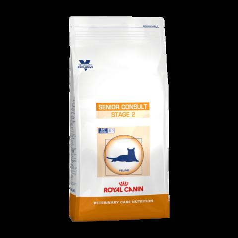 Royal Canin VCN Senior Consult stage 2 Сухой корм для кастрированных котов и кошек с нормальным и избыточным весом от 10 лет