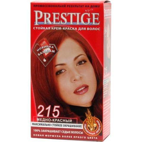Краска для волос Prestige 215 - Медно-красный