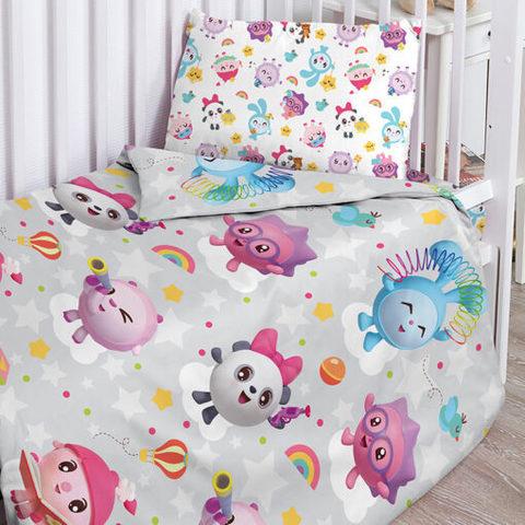 Комплект постельного белья детское Малышарики