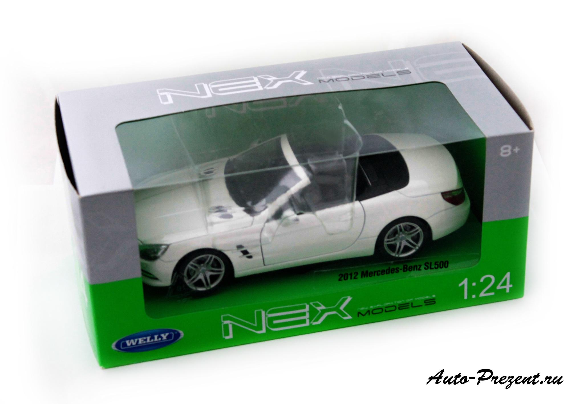 Машинка-игрушка Mercedes-Benz SL500