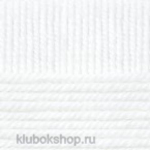 Пряжа Зимний вариант (Пехорка) 01 Белый - купить в интернет-магазине недорого klubokshop.ru