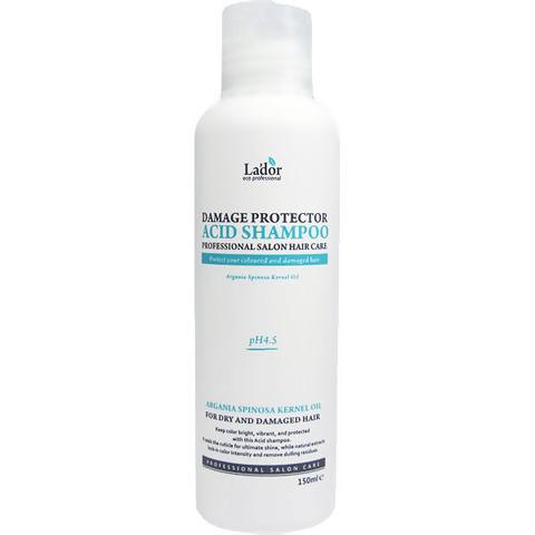 Lador Шампунь для волос с аргановым маслом 150мл Damaged Protector Acid Shampoo 150ml