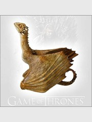 Game of Thrones Baby Dragon Resin Statue - Viserion