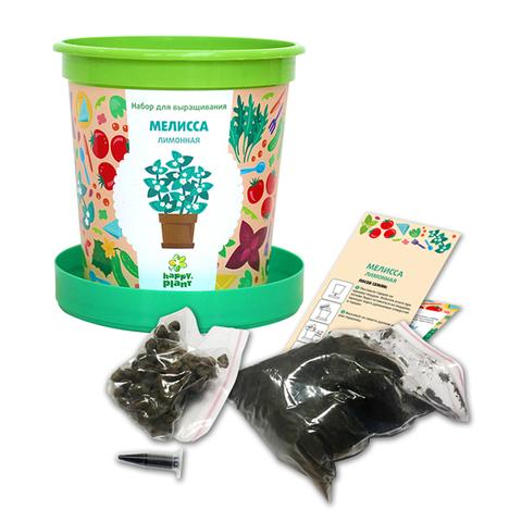 Набор для выращивания в горшочках Happy Plant Мелисса лимонная