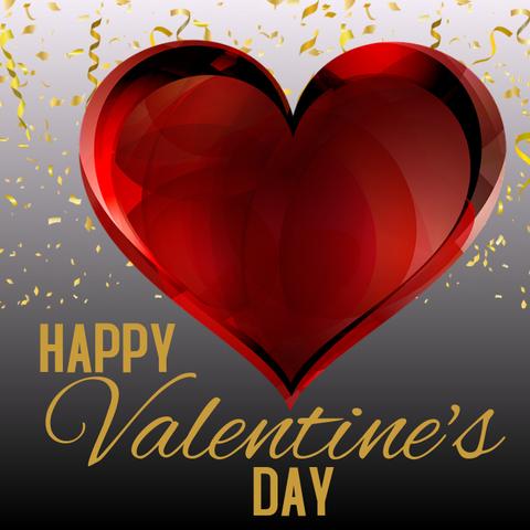 Печать на сахарной бумаге, День Влюбленных 20
