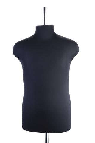 Манекен портновский мужской 54 размер ОСТ (черный)