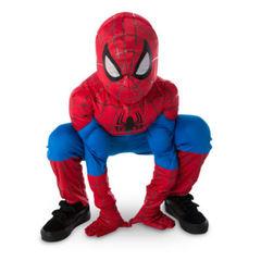Костюм супергероя Человек-паук светлый + подарок