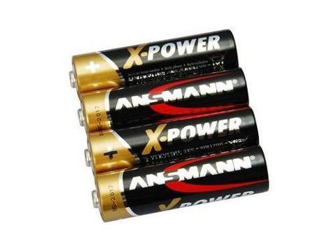 Батарейка X-POWER АА/ANSMANN 1.5V - 4шт в пленке