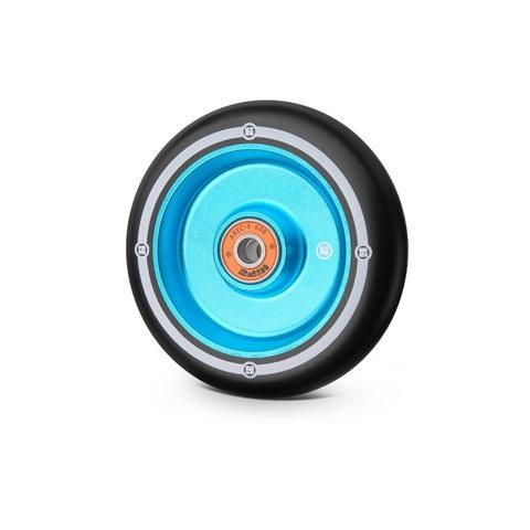купить колесо для трюкового самоката Flat Solid 100 мм св-синий/черный артикул 321047