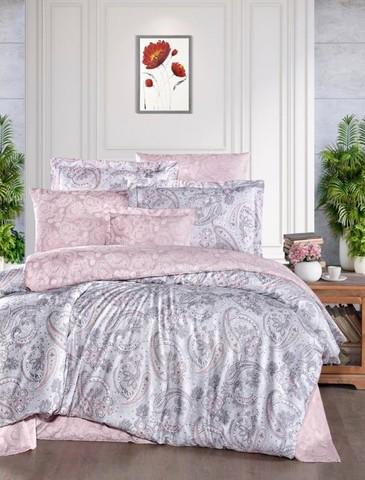 Комплект постельного белья DO&CO Тенсель жаккард  EXCLUSIVE 250TC SHARON Евро